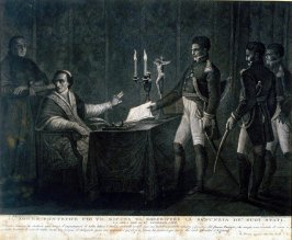 Pope Pius VII refuses a message from Napoleon