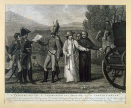 Pope Pius VII is accepted by the Allied Armies