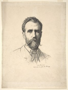 Portrait of His Twin Brother, the Artist Jean Benner