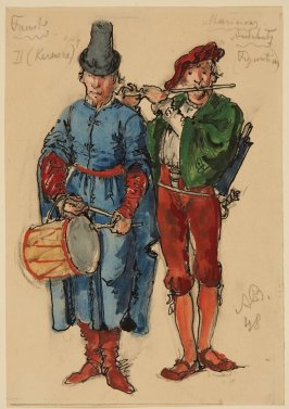 Two Musicians from Faust