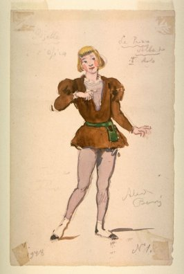 Giselle: costume for the prince, Act I