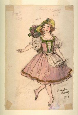 Giselle: Costume for a Female Grape Picker
