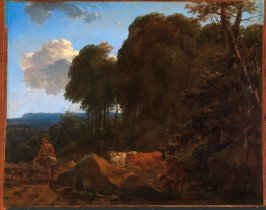Landscape with Muleteer and Herdsman