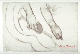 Recto: Study of Hands