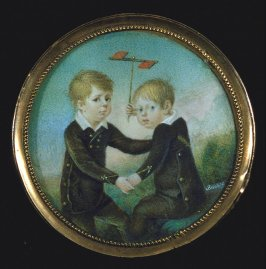 Portrait of Two Small Boys