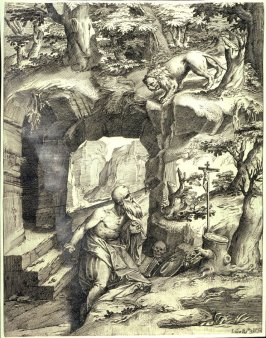 St. Jerome in a Cave