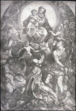 The Holy Virgin and Child with Saints