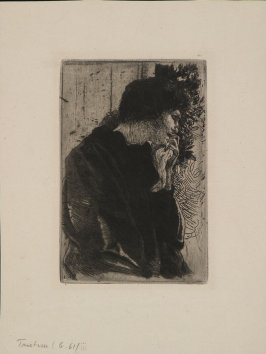 Tristesse (Sadness), from the Gazette des Beaux-Arts