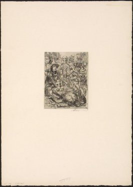 Plate III, L'Accident from Elle