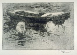 Le Bain published in L'Estampe originale, Album VIII (1894)