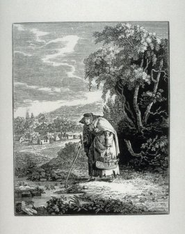 Old Woman with basket