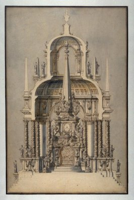 Design for a Castrum Doloris In Memory of the Holy Roman Emperor Joseph I (d. 1711)
