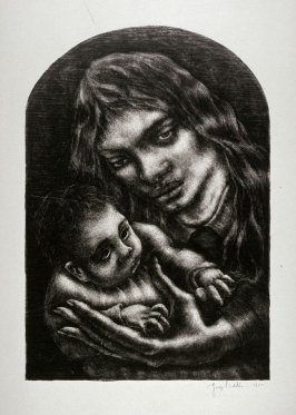 Mother and child (large, reworked)