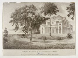 """Sedgley...Pennsylvania; From the series """"The Country Seats of the United States of North America"""""""