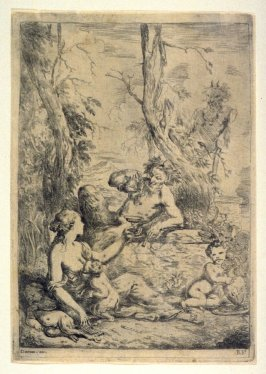 Bacchanale (Satyr's Family)