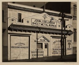 John J. DeLucchi Sheet Metal Works, 1526 Powell Street, San Francisco