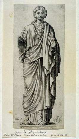 Classical Statues, plate 95 from the series Paradigmata