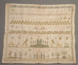 "Sampler: ""Carolina Bitossi F.L. 1832"""