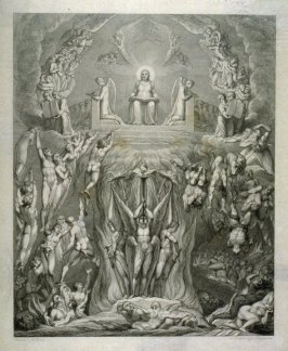 The Day of Judgement, illustration to Robert Blair's 'The Grave' (London 1813)