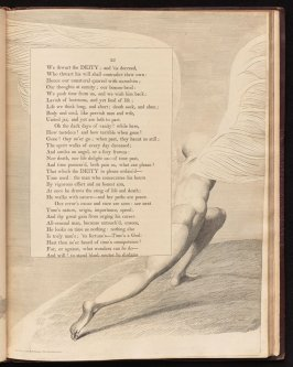 "[""Time, having passed on...""] on page 25, fifteenth plate in the book The Complaint and the Consolation, or Night Thoughts by Edward Young (London: Richard Edwards, 1797)"