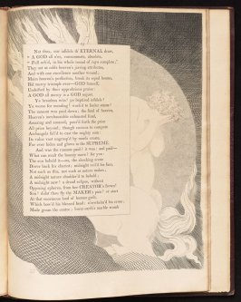 [The sun beheld it..], on page 75, thirty-fifth plate in the book The Complaint and the Consolation, or Night Thoughts by Edward Young (London: Richard Edwards, 1797)