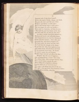 """""""His hand, the good man..., on page 86, thirty-seventh plate in the book The Complaint and the Consolation, or Night Thoughts by Edward Young (London: Richard Edwards, 1797)"""