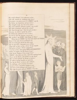 """""""Is lost in love..., on page 87, thirty-eighth plate in the book The Complaint and the Consolation, or Night Thoughts by Edward Young (London: Richard Edwards, 1797)"""