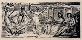 No.12: Thenot, illustration to Ambrose Philips' 'Imitation of Eclogue I', from Dr R. J. Thornton's 'The Pastorals of Virgil' (London, 1821)