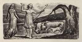 No.4: Colinet, illustration to Ambrose Philips' 'Imitation of Eclogue I', from Dr R. J. Thornton's 'The Pastorals of Virgil' (London, 1821)