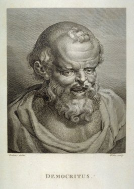 Democritus; Plate 25 from 'Essays on Physiognomy' by John Caspar Lavater