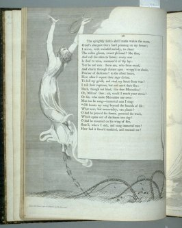 """""""Oft bursts my song..."""" on page 16, tenth plate in the book The Complaint and the Consolation, or Night Thoughts by Edward Young (London: Richard Edwards, 1797)"""