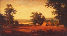 Indian Encampment on the James River, North Dakota