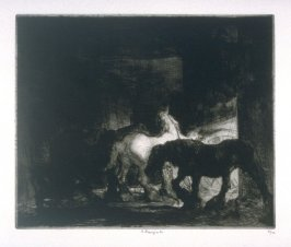 Night-Time in a Stable