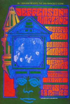 Jefferson Airplane, Grateful Dead, Big Brother & the Holding Company, September 15, Hollywood Bowl