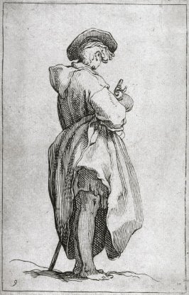 Young Man with a Knapsack, from a series of 30 plates; The Set of the Beggars