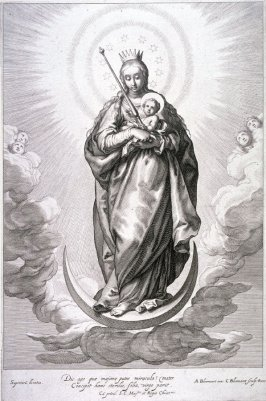 Virgin and Child on the Crescent (Standing)