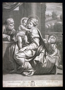 The Holy Family and St. John, (La Vierge aux lunetts)