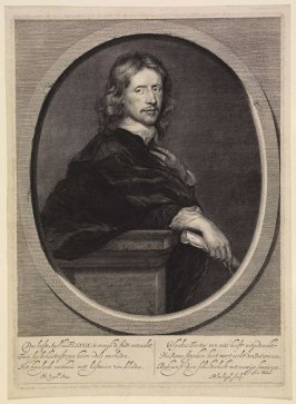 Portrait of Gouaert Flinck (1615-1660), (after Gerarts van Zyll)