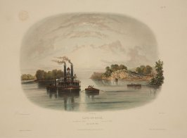 Vignette VII: Cave-In-Rock (view on the Ohio)