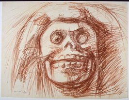 Untitled (Skeletal Face)