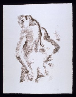 Untitled, plate 2 from the porftolio Cinq femmes (Vienna; Verlag Sezession, n.d.)
