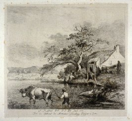 Peasant driving Bull into the River