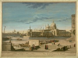 A View of the Custom House at Venice