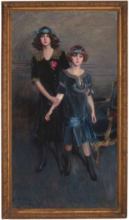 The Misses Muriel and Consuelo Vanderbilt