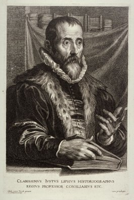 Justus Lipsius, from The Iconography