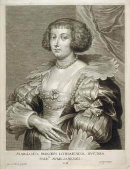 Marguerite, Princess of Lorraine, from The Iconography