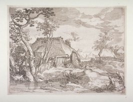 (Plate #4 from) Set of Four Landscapes