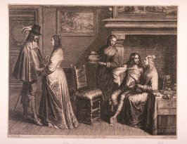 King Charles II and Henry, Duke of Gloucester, at the Hague