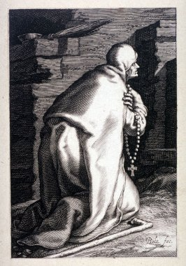 St. Pelagia (One from) A series of 25 engravings of the Hermits