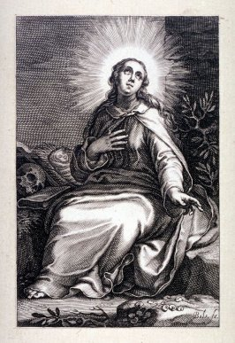 St. Marina (Plate 10 from a series of 25 engravings of the Hermits)